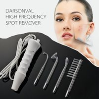 Wholesale 2016 Portable D arsonval Darsonval High Frequency Spot Remover Facial Skin Care Spa Beauty Device Professional