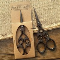 Wholesale Vintage Style Handmade Mini Sewing Scissors for diy cross stitch Embroidery Antique Design