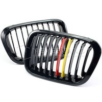 Wholesale 2x Front Gloss Black M color Kidney Grille Grill For BMW E46 D Touring Saloon Compact C20