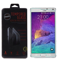 Cheap 0.3mm Tempered Glass Screen Protector for galaxy E5 E7 J1 J5 J7 Note 2 3 4 Grand max G7200 Edge with package