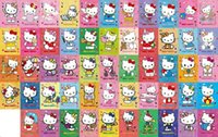 Wholesale HOT sets hello kitty Playing Cards poker set cute card game for fun good quality Christmas gift