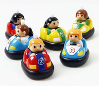 Wholesale Cute bumper car classic puzzle shape clockwork toy car toys for children