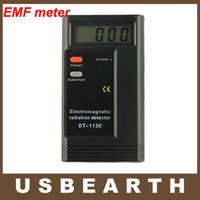 Wholesale CE Certificated Digital EMF Meter Dosimeter Tester portable electromagnetic radiation detector