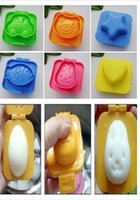 Wholesale 1PC Cute Animal Plastic Egg Mould Sushi Mold Rice Mold Jelly Mould DIY Kitchen Cooking Tools Z369