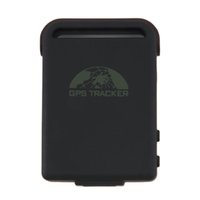 Cheap Mini TK102B GPS Tracker Car Vehicle Real time GPS SMS GPRS Tracking Device free shipping