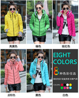 Wholesale fashion down amp parkas warm winter coat women light winter coat hooded winter jacket women parkas for women winter cost