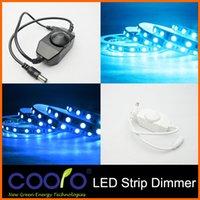 Wholesale Mini LED Brightness Adjust Switch Dimmer Controller for Single Color LED Strip Light LED Dimmer V V