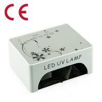 Wholesale wholesales w led ccfl led uv nail lamp nail dryer art for uv gel nail polish