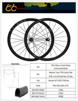 Wholesale New Tubular carbon wheelset road wheels C mm x mm Carbon Bicycles Wheels