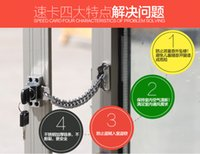 aluminum casement windows - The top of the valley plastic window lock Aluminum Alloy casement window lock anti theft lock doors and windows children protection safety l