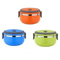 Cheap Korean Stainless Steel Thermos Bento Lunch Box for Kids Thermal Food Container Food Box Lunchbox Portable