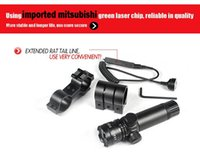 Wholesale Green Laser Sight Tactical nm Outside Adjust Green Dot Laser Sight Rifle Gun Scope Switch Rail Mounts for Hunter