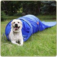 agility tunnel - by FEDEX sack tunnel for dog agility training
