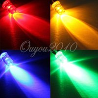 ads flash - 20cm Pre Wired mm DC12V Multi Color Flashing LED Car Home Hotel Decorating Light Ads Club Outdoor Party Lamp Bulb