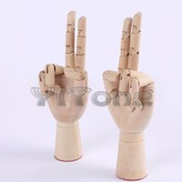 art mannequins - NEW Modle Hand quot CM Wood Crafts painting Wood joint Wooden Cartoon Hand for Mannequin Decoration