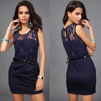 apple buttocks - Europe And America Summer Sexy Package Buttocks Special Occasion Dresses S M L XL Wire Mesh Party Dresses Black Blue Khaki Events B
