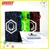 2016 Vape Hex Ohm V3 Caja Mod Hexohm Vaporizadores Mods Cloupor Mod Eleaf Istick 50w 100w Sigelei t150 Ecigarettes