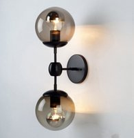 cafe lights - Modo Wall Sconce Glass Ball Wall Lamp Modo Wall light Brief Ceiling Light Cafe Lamp Living Room Dinning Room Bedroom Lamp Art Chandeliers