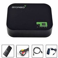Wholesale Original M8 Amlogic XBMC Fully Loaded Android TV Box Dual Core Mali450 K G G Dual WiFi Smart IPTV HD Media Player