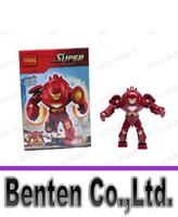 Wholesale llfa492 Super Heroes lotThe Avengers IRON MAN HULK BUSTER Action Figures Minifigures Building Blocks diy toys