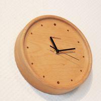 beech wall clock - High quality creative Clock living room wall clock from Germany beech wood mute creative minimalist Clock