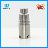 Acheter Dab miel seau-Nouveau produit MJB-4TM48 Titanium Domeless Nail Carb Cap Dab Rig Titanium Nail Avec Expédition Seaux gratuit