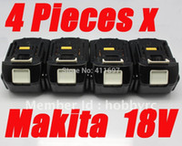 Wholesale 4 pack makita v Ah lithium compact battery BL1830 for power tool order lt no track