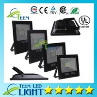 Wholesale CE RoHS Ultar Thin W W W W Outdoor Waterproof Led Floodlights Warm Cool White IP65 Led Floodlight outdoor Led flood lights V