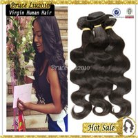 Wholesale brazilian hair human hair extension wefts cheap unprocessed remy hair weft weaving quot quot inches