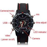 Wholesale Sport style spy watch Hidden Camera Build in GB Wrist Watch with Hidden Camera photo vedio taking