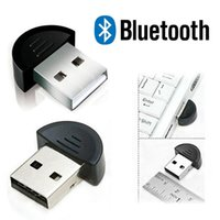 Wholesale New Wireless USB Bluetooth Adapter Dongle EDR for PC Laptop Notebook Win98SE ME XP Vista Win7 data transfer networking