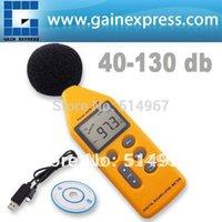 30dB analog signal meter - Professional Handheld Range Digital Sound Noise Level Meter with Analog Signal Output USB Port dB Decibel