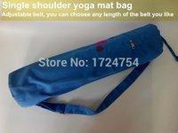 Wholesale yoga bags for women pilate mat bag single shoulder sporting bag three color PVC EVA TPE yoga mat bag