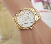 designer watches men - Hot fashion luxury brand designer watch for men and women Steel strip quartz watch digital gold Wristwatch