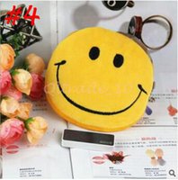 Wholesale 3000pcs CCA3310 New Arrival Styles QQ Emoji Stuffed Coin Bag Mini Coin Purse Cartoon Wallet Purse Key Wallet Coin Bag Plush Pendant