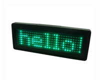 Wholesale LED Display Board LED Message Board Green Character Advertising Signs Long Working Hour Support Multiple Languages Various Functions B729TPG