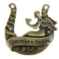 beauty happiness - 2015 new fashion hot metal horseshoes Russia distinctive personality size cm beauty and blessings of love happiness