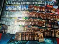 Wholesale 45Pcs DIY Customized MTG DIY Unofficial English Version Proxy MTG Card Board Game Card