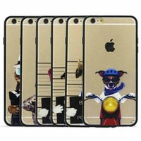 bad covers - hybrid clear Transaprent Bad Dog Police Dept case cover skin shell for iPhone iPhone S and Plus