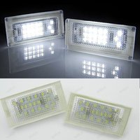 automotive mini led lights - High brightness Error Free White SMD LED Number License Plate Lights for BMW Mini cooper R50 R52 R53 Automotive accessory
