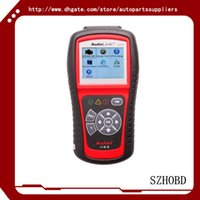 battery testing system - auto scanners Code Reader OBD OBD2 Autel AutoLink AL519 OBDII And CAN Scanner Tool supports all modes of OBDII test DHL free