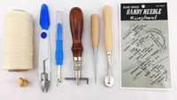 basic hand stitches - 7 Basic Hand Stitching Leathercraft Set Leather Craft Tool A
