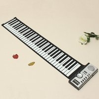 Wholesale 1pc Keys Flexible Roll Up Electronic Soft Keyboard Piano Portable order lt no track