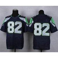 Cheap 2015 Super Bowl XLIX American Football Jerseys Navy Blue #82 Elite Embroidered Football Apparel High Quality Cheap Playoffs Football Kits