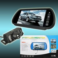 Wholesale Wireless inch LCD LED Car Rearview Backup Monitor IR Camera Night Vision order lt no track