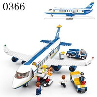airbus model planes - Plane toy AirBus Model Airplane Building Blocks sets DIY Bricks Classic Toys bricks toys plane
