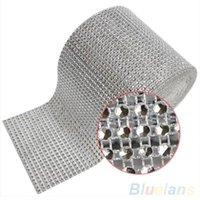 diamond mesh wrap - 4 quot x1 Yard Diamond Mesh Wrap Sparkle Crystal Ribbon Party Decor party decoration SNG