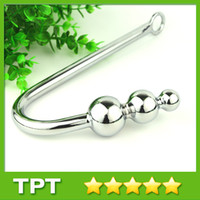 anal hook - Metal Adult Sex Toys Anal Hook Anal Butt Plugs Unisex Anal Toys Silver Anal Hook Sex Products J