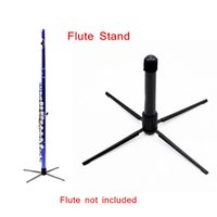Wholesale Western Concert Flute Stand Tripod Holder with Metal Legs Detachable Portable Design Top Quality