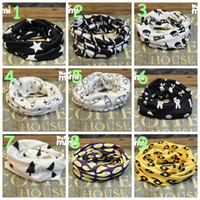 Wholesale hot sale kids autumn winter Ring Scarf Baby Lovely Soft Cotton scarves Kids Boys Girls Warm Neckerchief Scarves styles